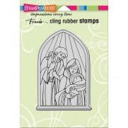 Étampe Stampendous Nativité