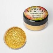 Lavinia Mica Minerals Crystal Gold