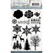 Étampes Precious Marieke Winter Wonderland