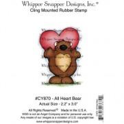 Whipper Snapper Étampe Avec tout mon coeur