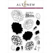 Étampe Altenew Dahlia Blossoms