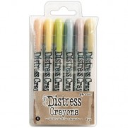 Ensemble de Crayons Distress No. 8