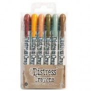 Ensemble de Crayons Distress No. 10