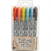 Ensemble de Crayons Distress No. 7