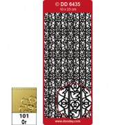 Peel Off Ribbon Lace Mariage Or