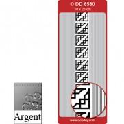 Peel Off Coins et Lisières Argent