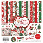 "Carta Bella Collection 12""X12"" Cher Santa"