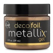 Deco Foil Metallix Gel Aged Copper