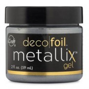 Deco Foil Metallix Gel Glazed Pewter