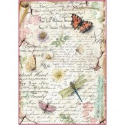 Stamperia Papier de Riz Libellules & Papillons