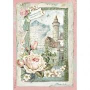 Stamperia Papier de Riz Château Fantastique