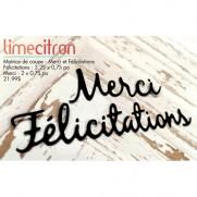 Limecitron die Merci & Félicitations