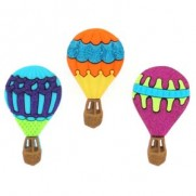 Boutons Hot Air Balloons