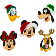 Boutons Disney Holiday Heads