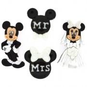 Boutons Disney Mariage de Mickey & Minnie