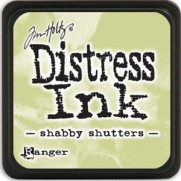 Mini Distress Ink Shabby Shutters