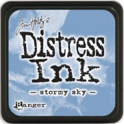 Mini Distress Ink Stormy Sky