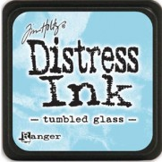 Mini Distress Ink Tumbled Glass