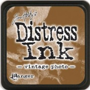 Mini Distress Ink Vintage Photo