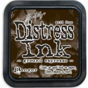 Mini Distress Ink Ground Espresso