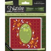 Die'sire Create-A-Card Die & Emboss Cloches de Noël