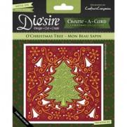 Die'sire Create-A-Card Die & Emboss Sapin de Noël