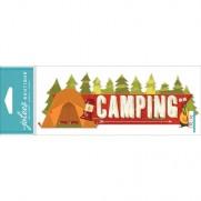Autocollants 3D Jolees Camping