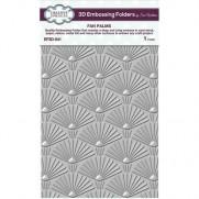 Creative Expressions Plaque embossage 3D Palmes de ventilateur