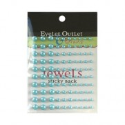 Eyelet Outlet mini Perles bleues