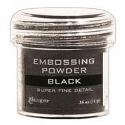 Poudre embossage Super Fine Noire