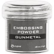 Poudre embossage Métallique Gunmetal