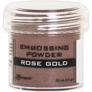 Poudre embossage Métallique Rose Gold