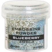 Poudre embossage tachetée Blueberry