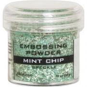 Poudre embossage tachetée Mint Chip