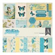 """Authentique Paper Pad 12""""X12"""" Felicity"""