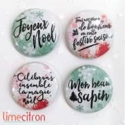Limecitron Badges Festive saison