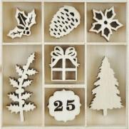 Découpes en bois Noël Traditionnel