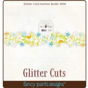 Glitter Cuts Bordure Été
