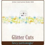 Glitter Cuts Bordure Été