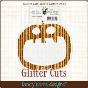 Glitter Cuts Citrouille