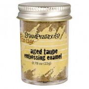 Stampendous Aged Embossing Enamel Taupe
