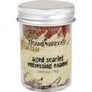 Stampendous Aged Embossing Enamel Scarlet