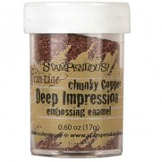 Stampendous Deep Impression Chunky Embossing Enamel Cuivre
