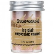 Stampendous Frantage Aged Embossing Enamel Ice Pink
