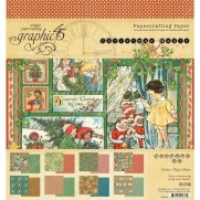"Graphic 45 Pad 8"" X 8"" Christmas Magic"