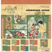 "Graphic 45 Pad 12"" X 12"" Christmas Magic"