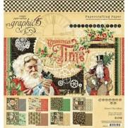 """Graphic 45 Pad 8"""" X 8"""" Période de Noël"""