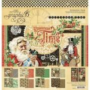 """Graphic 45 Pad 12"""" X 12"""" Période de Noël"""