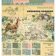 """Graphic 45 Pad 8"""" X 8"""" Amis de la Forêt"""