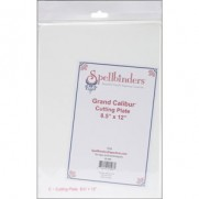 "Grand Calibur Cutting Plate 8.5"" x 12"" (Plaque C)"